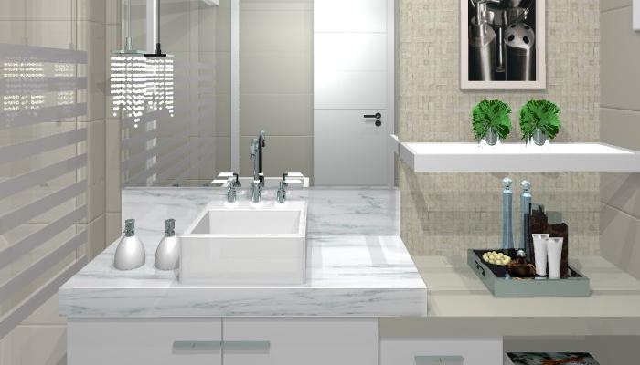 Blog plano plano banheiros modernos for Pisos bonitos decorados