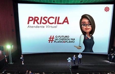 Conheça Priscila, a nossa nova atendente virtual