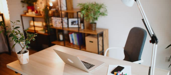 home office organizado