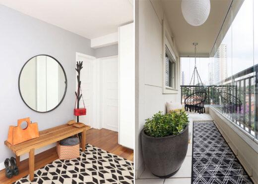 decoração tapetes geométricos - 01